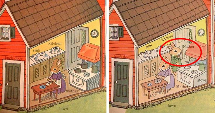 Richard Scarry, the prolific children's book author who has created more than 300 books since 1949, has quietly been updating his work to ensure that it would be acceptable for modern audiences. Since the 1950s, our understanding of gender roles and ethnic relationships has changed, and Scarry has done a great job of ensuring that the children who love his books wouldn't be influenced by outdated gender norms.