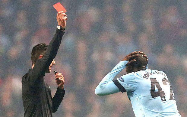 Yaya Toure bohaterem i antybohaterem w Lidze Mistrzów • Manchester City vs CSKA Moskwa • Czerwona kartka i piękny gol Yaya Toure >>