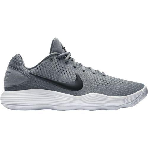 Nike Men's Hyperdunk 2017 Low-Top Basketball Shoes (Grey/White, Size 9.5) - Men's Basketball Shoes at Academy Sports