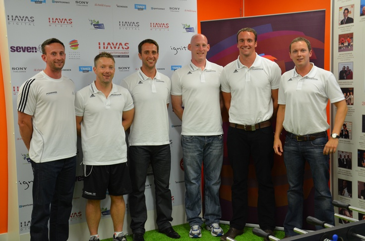 HSE House Aug 7 - The Team GB Olympics swimming coaches
