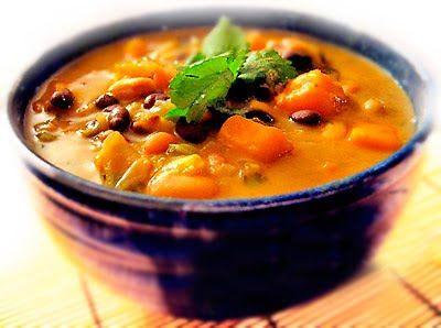 Gluten-Free Goddess Recipes: African Sweet Potato Soup with Peanut Butter, Blac...