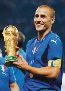 Fabio Cannavaro <3 Italian soccer player!