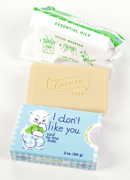 I Don't Like You Jamine Soap from BlueQ at Art Effect