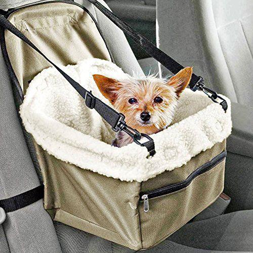 Prime Paws® Sac de voyage pliable pour chien chat chiot Pet transporteur Ceinture de sécurité pour siège auto: Voyager avec votre meilleur…