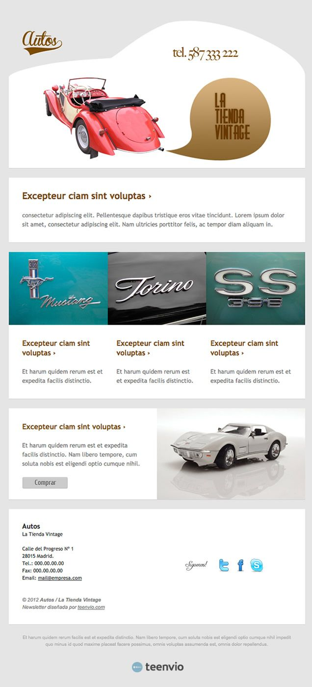 Html Email Design Newsletters Marketing Cars Forward Autos