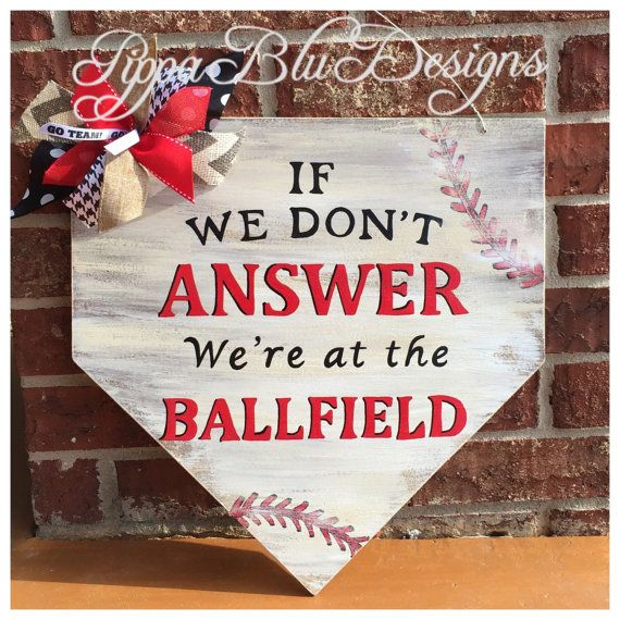 Baseball+Door+Hanger+Home+plate+Door+Hanger+by+PippaBluDesigns