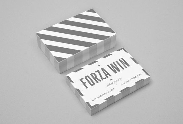 forza win: Graphic Design, Identity, Forza Card, Card Design, Branding, Behinds Business Cards, Forza Win, Portfolios Business Cards