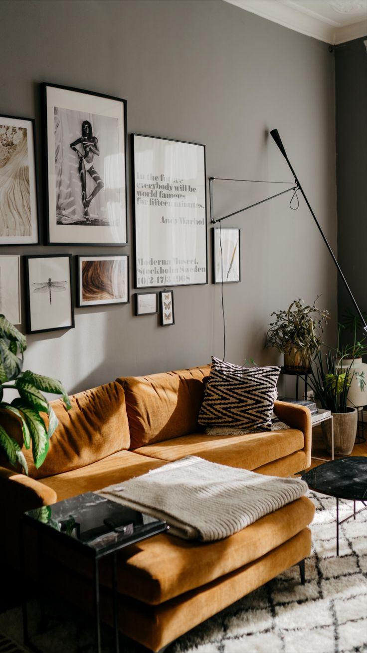 Minimalistic Living Room Interior By Fashion Blogger Masha