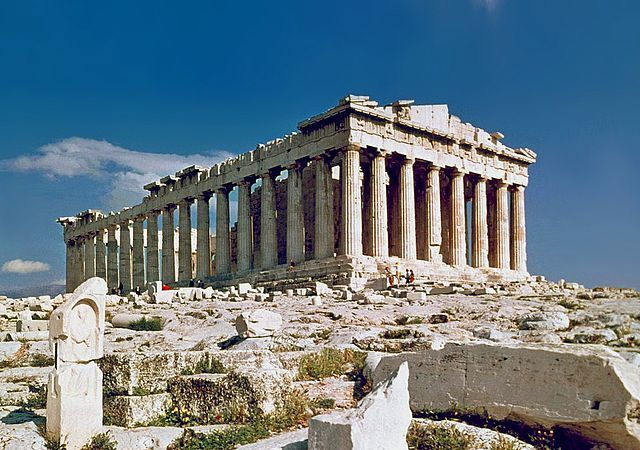 The Parthenon was a major structure in classical Greece.