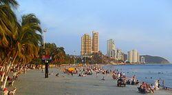 El Rodadero, es una playa ubicada en Santa Marta, Colombia y es el punto más visitado de la ciudad. A tan solo 5 km del centro de la ciudad esta playa es un símbolo de la ciudad ya que es conocida a nivel nacional como un balneario de excelente calidad.