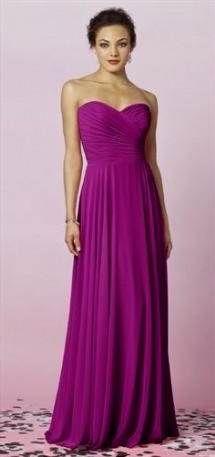Cool dark magenta bridesmaid dresses