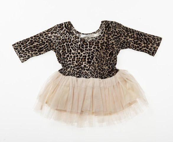 Designer Kidz Baby Tuelle Dress - Leopard Print Price: $ 34.95  Divine little baby girls tuelle dress by Designer Kidz!  Your baby girl is guaranteed to stand out in her play group in this quirky baby dress!  Features leopard print stretchy bodice and tuelle skirt - comfortable and oh so stylish!  https://www.littlebooteek.com.au/product/designer-kidz-baby-tuelle-dress-leopard-print