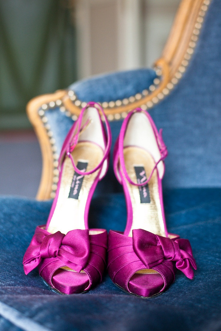 Bows Magenta My Shoes