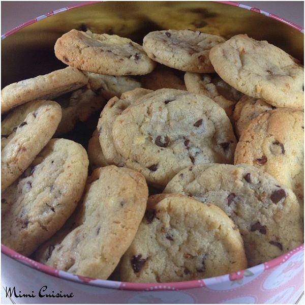 Cookies aux pépites de chocolat Recette Companion. Retrouvez mes recettes Companion, Cookeo, Thermomix, MD, ou sans sur mon site Mimi Cuisine