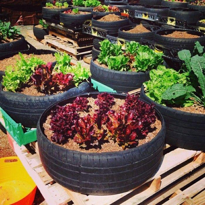 Amazing Gartengestaltung Mit Upcycling Ideen Aus Alten Autoreifen