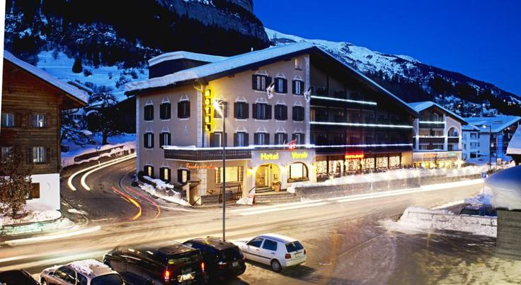 Hotel Vorab Flims The family-run Hotel Vorab is located at the entrance to Flims, just 700 metres from the Flims Cable Car. It offers 3 saunas, a hot tub, and a solarium. Free WiFi is available in all rooms.