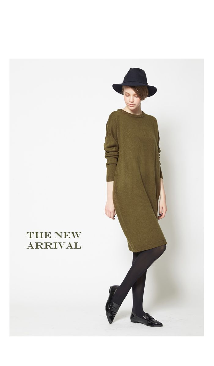 クルーネックニットワンピース通販  titivate【公式】20代・30代・40代レディースファッション・洋服通販