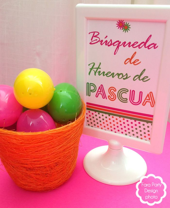 #pascua #easter  #freeprintable  #farapartydesign