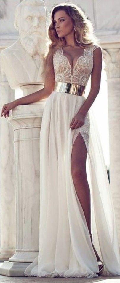 в наличии 2015 новый sexy line белый вечерние платья v образным вырезом без рукавов молнии длиной до пола , шифон бисероплетение вечернее платье 2015, принадлежащий категории вечерние платья и относящийся к свадьбы и торжества на сайте aliexpress.com