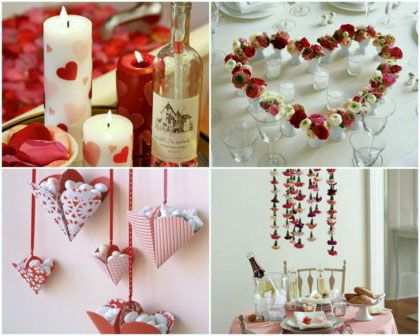 Beautiful Valentines day decoration