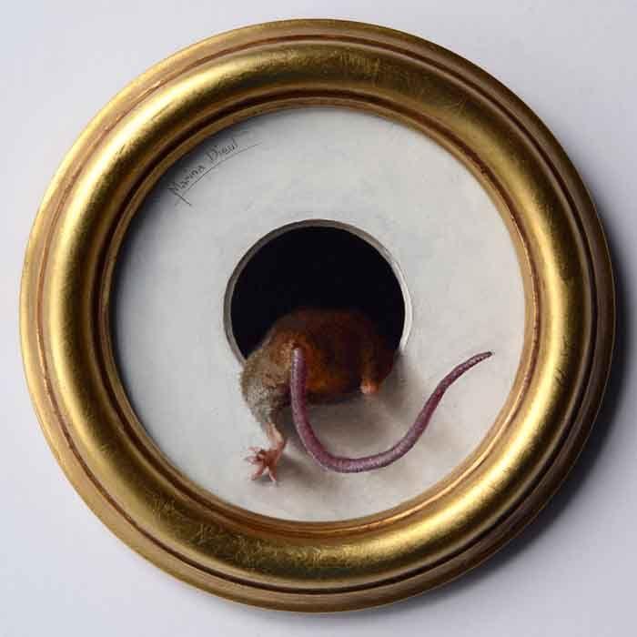 mouse back trompe l'oeil
