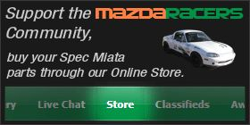 Mazda Racing community and home of Spec Miata. Online discussions, chats, classifieds and store covering the many classes of Mazdas racing in SCCA, NASA and others.