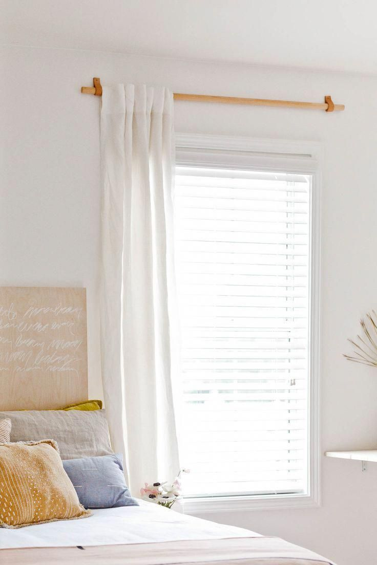 Diy Simple Curtain Rod For Less Than 10 Homedecor In 2020 Diy