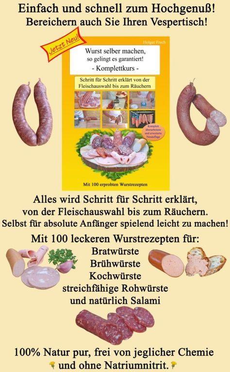 Más de 25 ideas increíbles sobre Wurst Rezepte Selber Machen solo - küchen selber gestalten