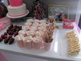 Cute pink princess party ideas