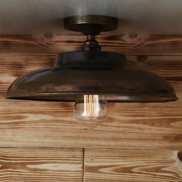Beautifully decorative the telal minimalist factory ceiling fitting brings a vintage style to any space