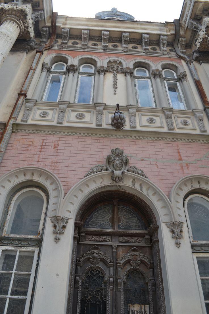 Casa cu lei (1895-1898) - detaliu, Constanța