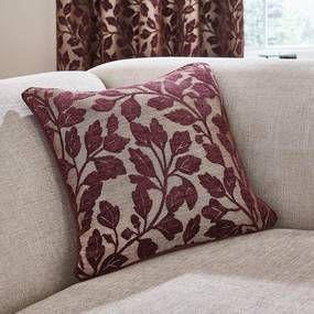 Oakley Plum Cushion