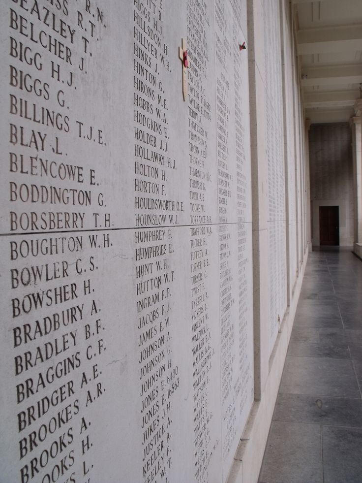 54,896 soldier's names are inscribed on the Menin Gate, Ypres. Flanders: the Bradt Guide www.bradtguides.com