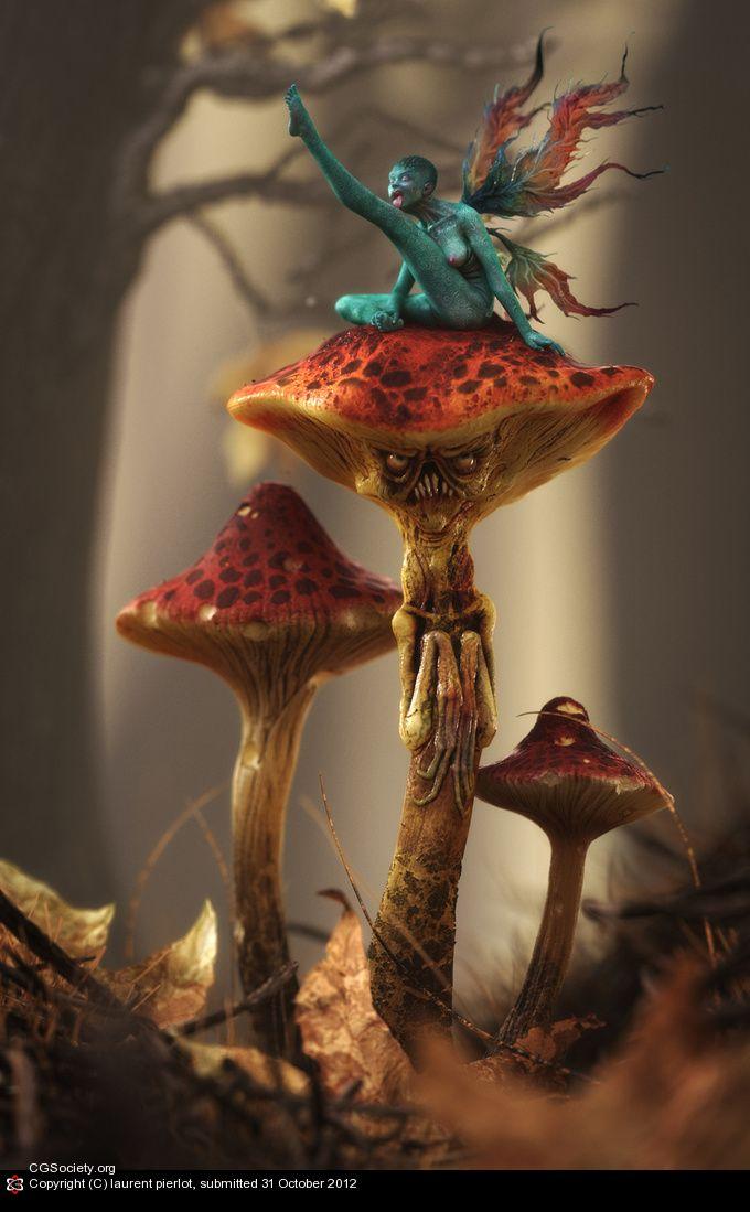 CGTalk - Shroom, laurent pierlot (3D)
