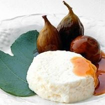 A picture of Delia's A Compote of Figs in Marsala Wine with Mascarpone Mousse recipe