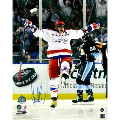 Alex Ovechkin Washington Capitals Fanatics Authentic Autographed Skating With Tongue Out 16'' x 20'' Photo
