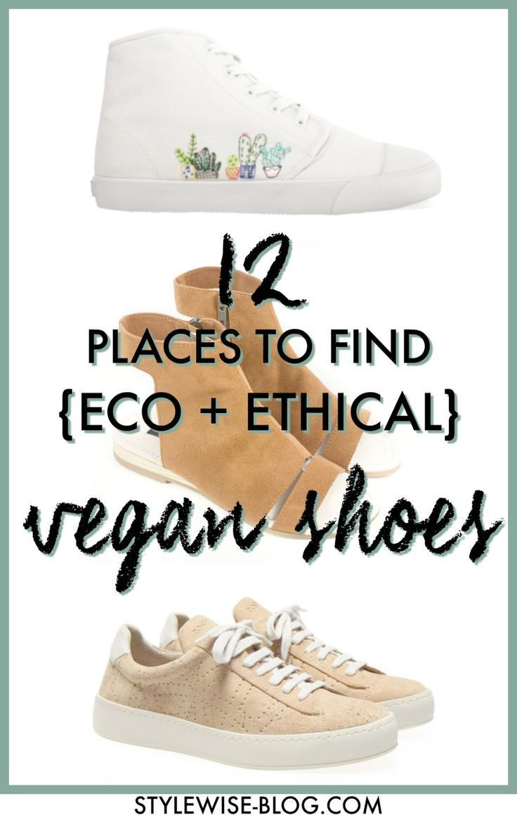 Ethical Vegan Shoes — Style Wise