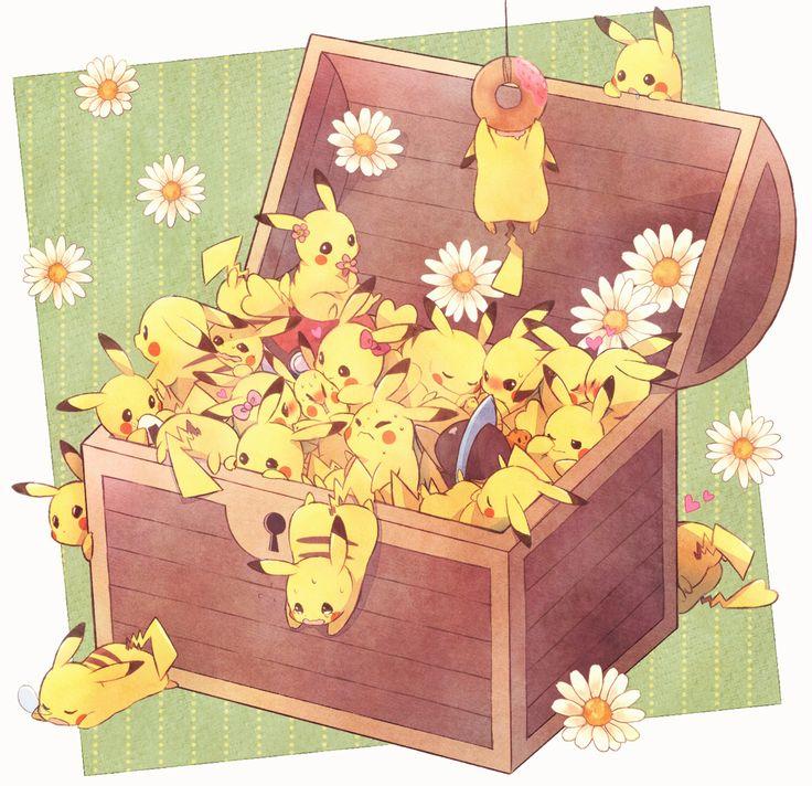Pikachu - Pokemon via kabocha tourte