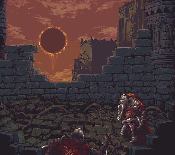 Dark Souls 3 - Lothric Castle by Zedotagger