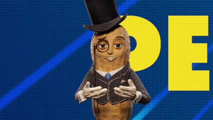 Mr. Peanut, Motivational Speaker, Wants You to Respect the Nuts ...