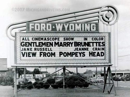 Ford-Wyoming Drive-In.... Dearborn, Michigan, Dad and I would go here all summer. Not far from the Starlite.