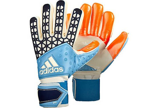 adidas ACE Zones Pro Goalkeeper Gloves - Manuel Neuer - Solar Red & Dark Blue   SoccerMaster.com