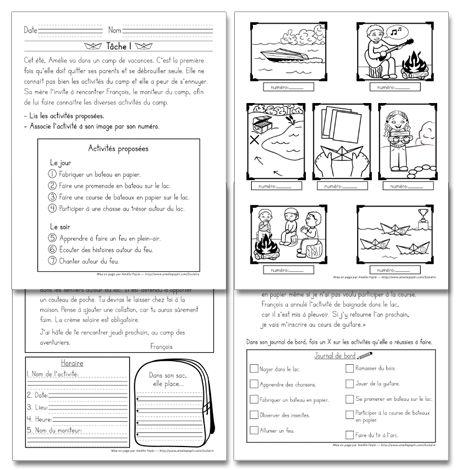 Fichier PDF téléchargeable En noir et blanc 4 pages  Voici une évaluation de lecture composée par des enseignantes de 1re année (2012), pour le mois de juin. Le document contient 4 pages dont 3 tâches à compléter par les élèves: associer des phrases aux bonnes illustrations, remplir un agenda à partir d'une lettre reçue et un exercice de compréhension de texte.