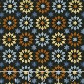 Bountiful - Farm Stars Black Yardage - Dan Morris - Quilter's Treasure Chest — Missouri Star Quilt Co.