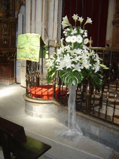 Flores boda Catedral de Zamora