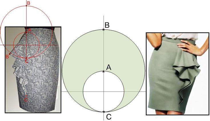 Skirt, patterns instructions