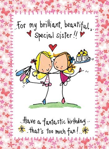 ☆ Happy Birthday my brilliant, beautiful and special sister!