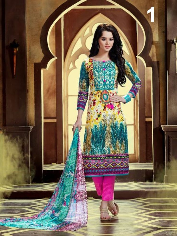 Buy 1 Get 1 Free Suit Indian Salwar Kameez Anarkali Pakistani Designer Dress New #TanishiFashion
