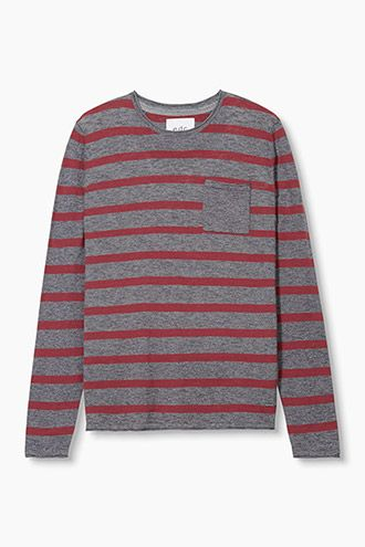 EDC / Feinstrick-Pullover, 100% Baumwolle