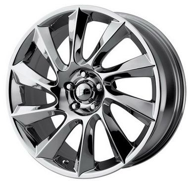 17 inch Helo Wheels HE840 - 17x7.5 Chrome Rims